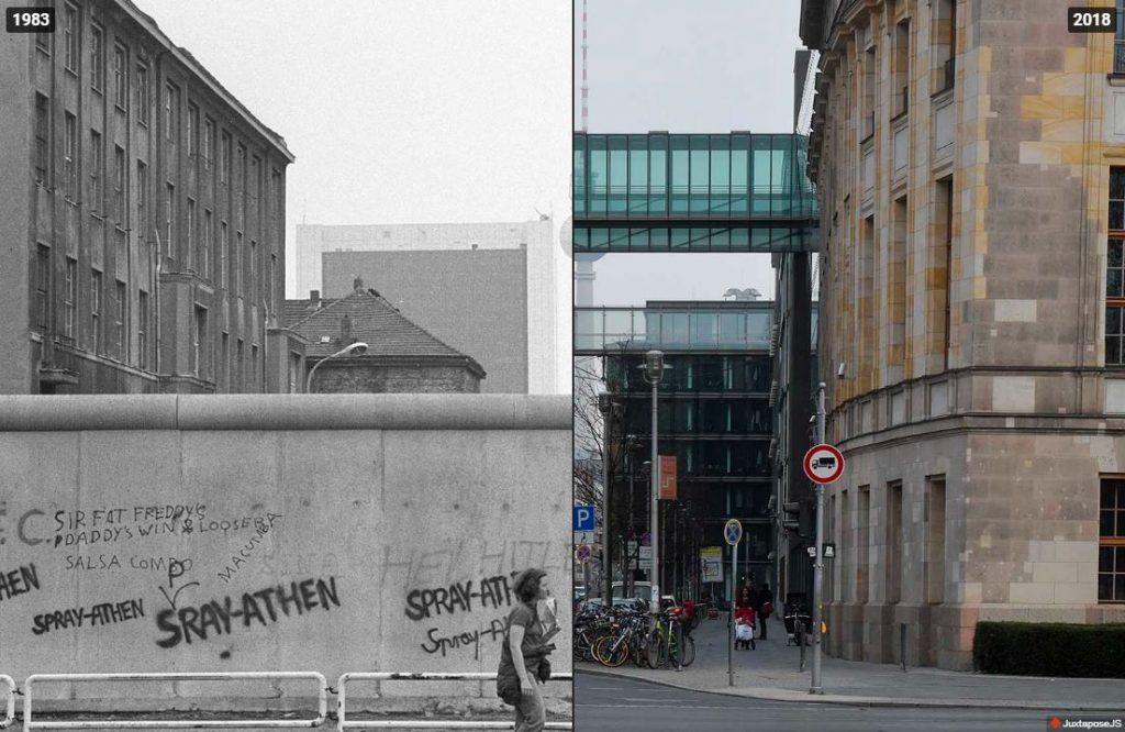 30 rokov odpádu Berlínskeho múru. Pozrite si porovnávacie zábery vtedy adnes