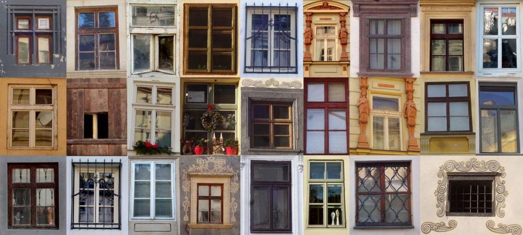Ako spoznávať svoje mesto aešte sa ajzabaviť? Všímajte si detaily. Skúste tosfotkami okien abrán