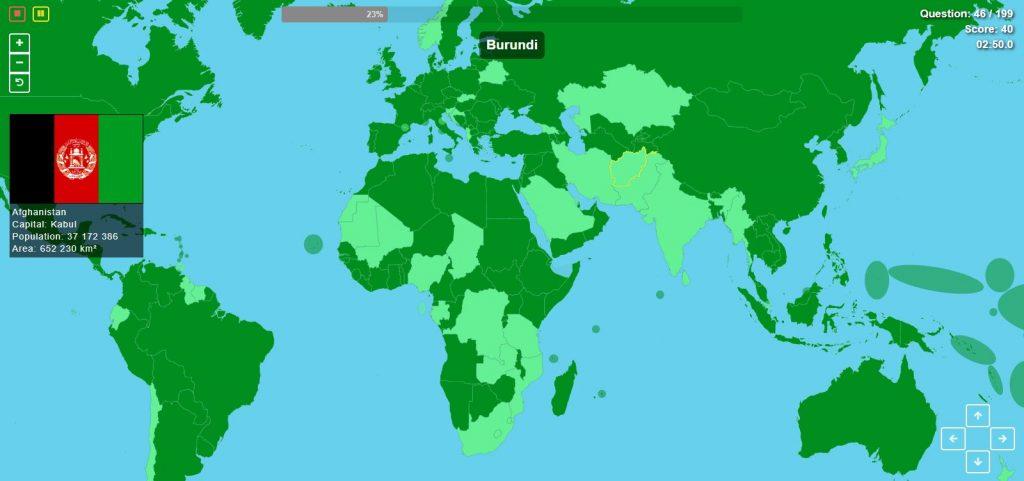 Poznáte všetky štáty sveta? Vyskúšajte sa vmapovej hre, ktorá preverí ajvaše poznatky ovlajkách