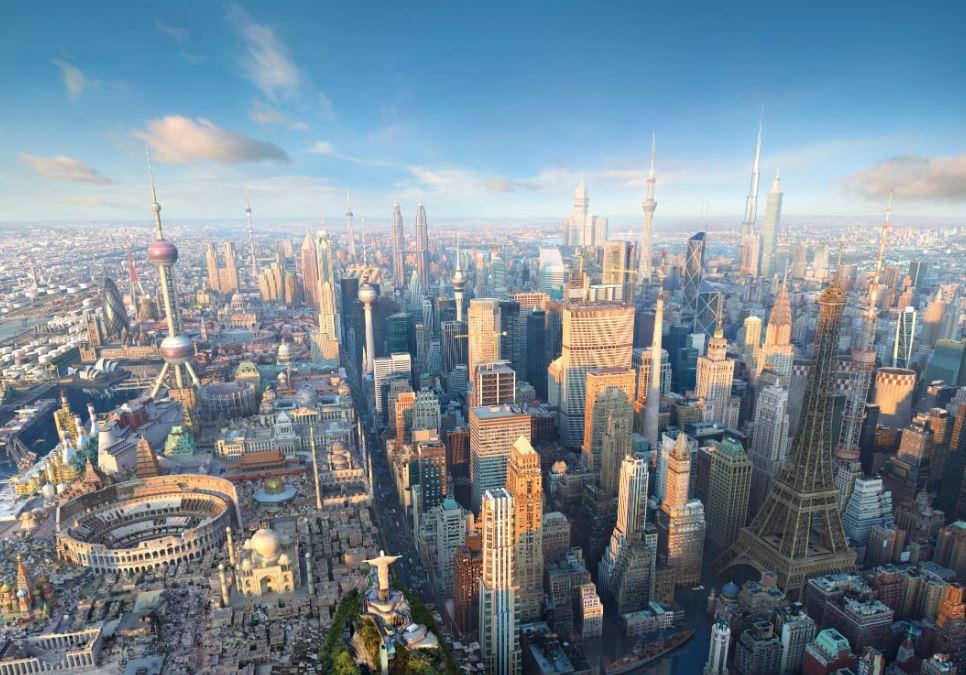 Ako by vyzeralo najúžasnejšie mesto nasvete?