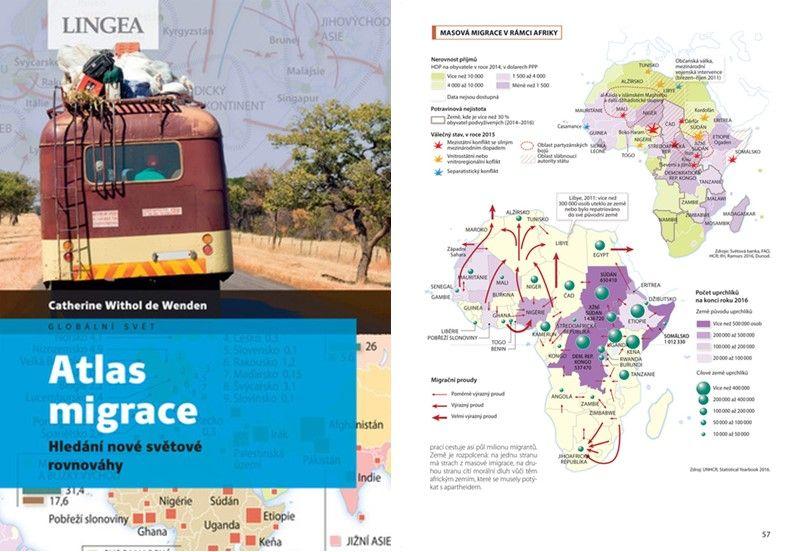 Atlas migrácie pomáha rozumieť svetu vpohybe